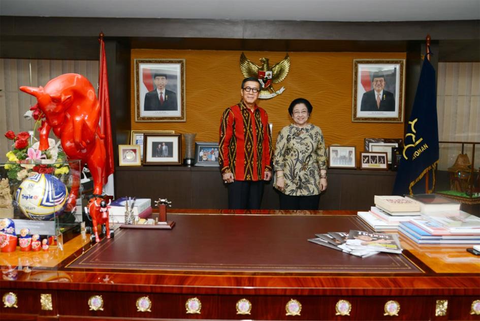 Kunjungan Ketua Umum PDI Perjuangan di Kantor Kemenkumham RI
