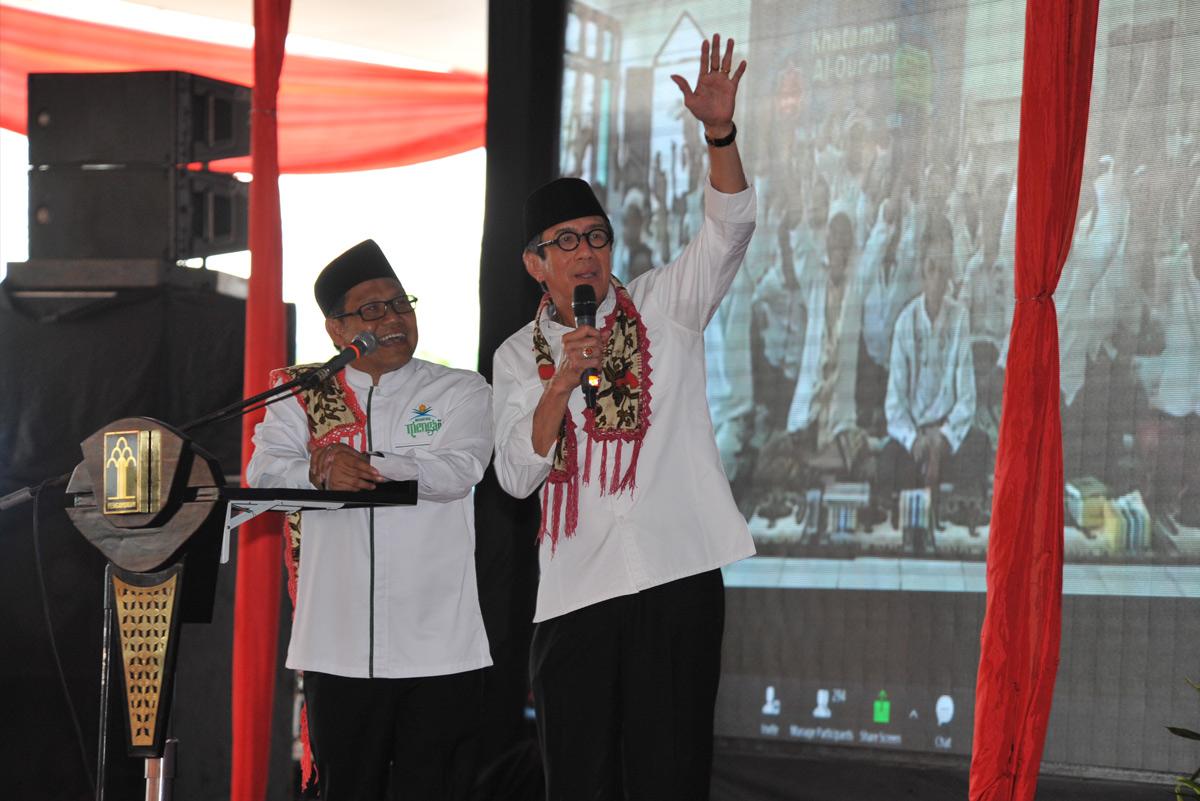 Membuka khataman Al Quran WBP Mengaji di Rutan Cipinang