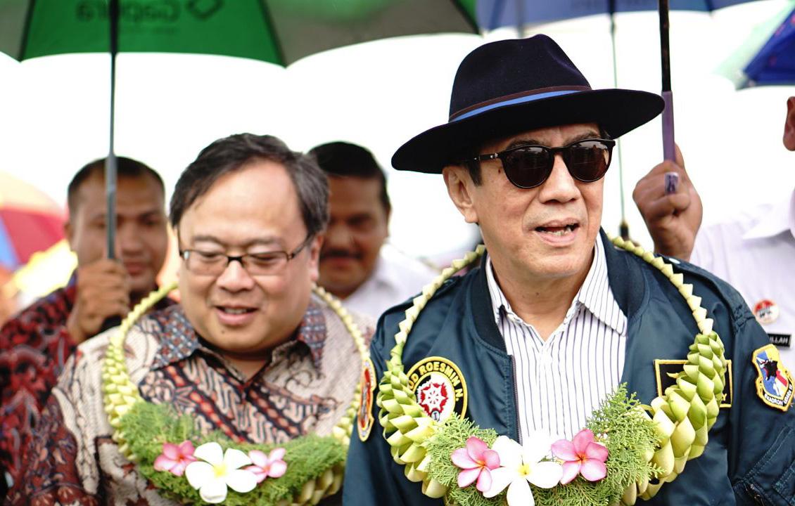 Berkunjung ke Nias bersama Kepala Bappenas Bambang Brodjonegoro