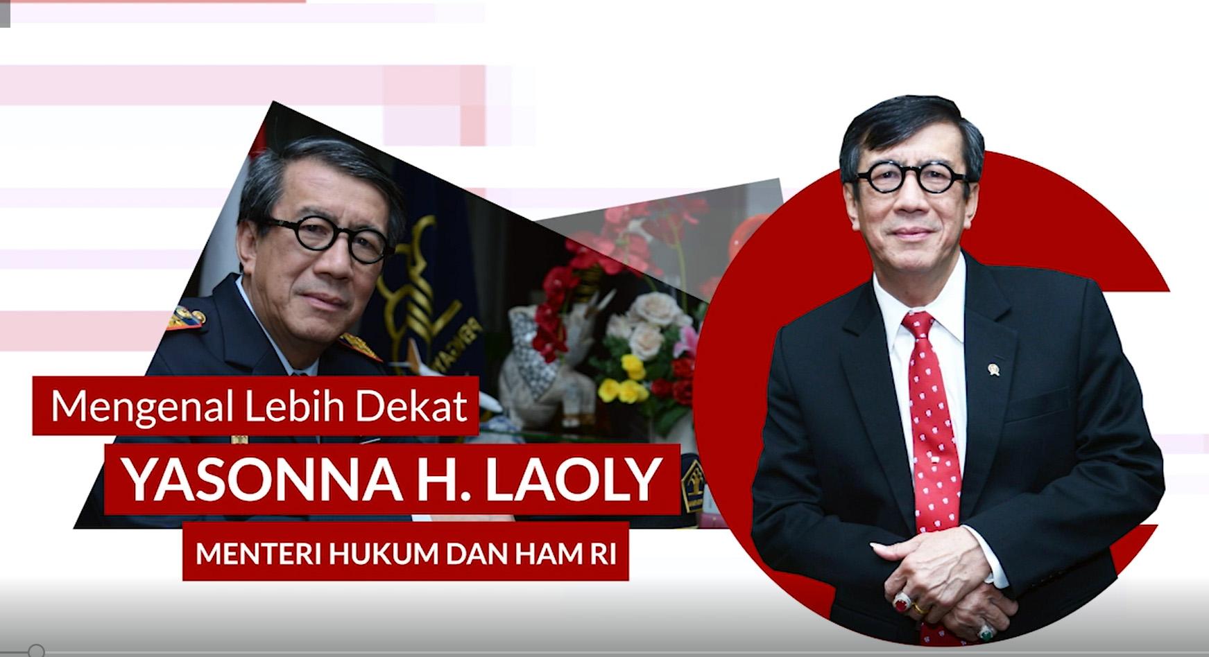 Lebih Dekat dengan Menteri Hukum dan HAM RI Yasonna H. Laoly