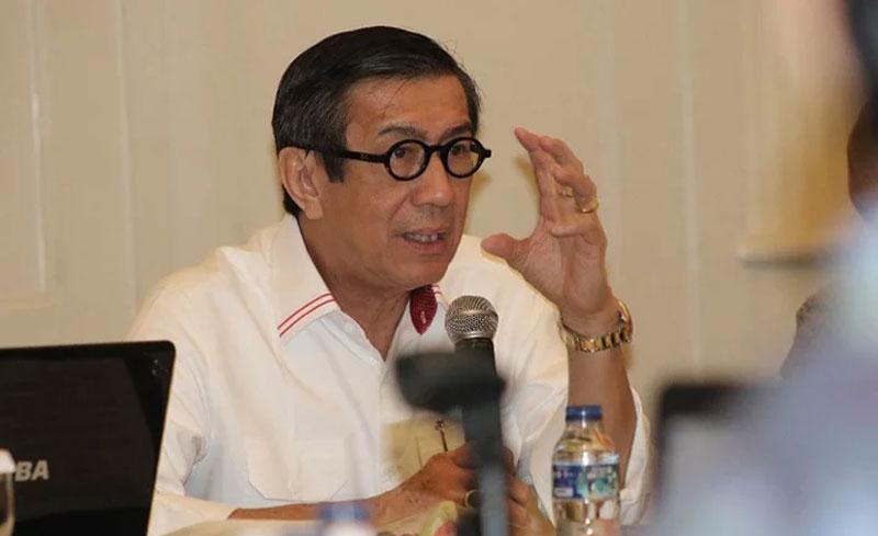 Yasonna Laoly dan Djarot Saiful Lolos ke Senayan