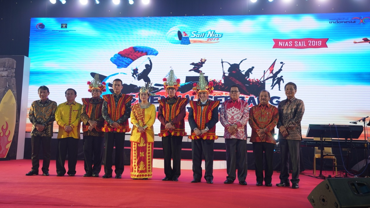 Launching Sail Nias 2019