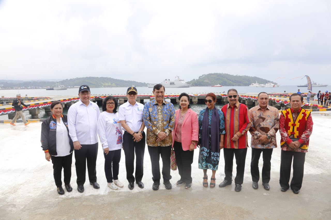 Acara puncak Sail Nias 2019 di Telukdalam, Kabupaten Nias Selatan.